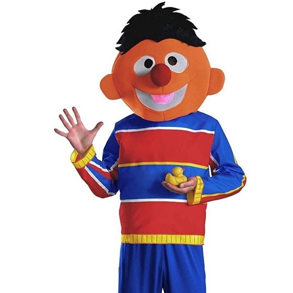 Sesame Street Other - Men's Ernie Adult Costume NEW  Sz XL 42-46